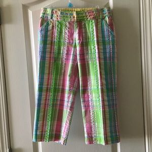 Lilly Pulitzer main line fit stretch crop pants 2